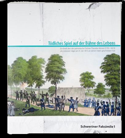 Titelseite der Mappe des Faksimile