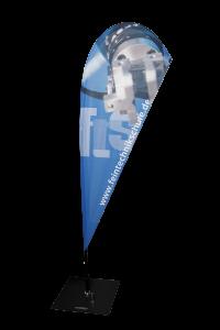 Beach-Flag für die Feintechnikschule