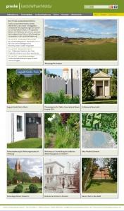 Die neue Homepage von Proske Landschaftsarchitektur